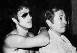 Bruce Lee and Chor Yuen