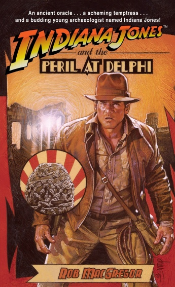 Cover: Indiana Jones and the Peril at Delphi