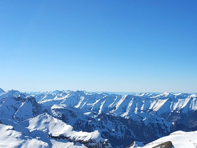 Piz Gloria observation deck